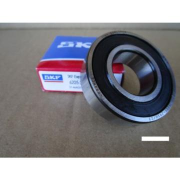 SKF Stainless Steel Bearings-6205-2RSH C3  Single Row Ball Bearing