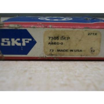 SKF Stainless Steel Bearings-7306 BEP Angular Contact Bearing
