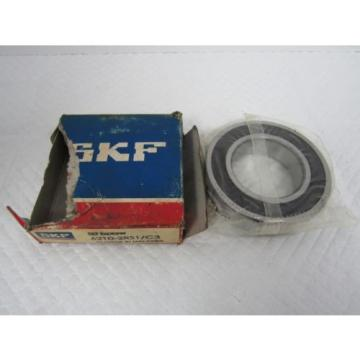 SKF Stainless Steel Bearings-EXPLORER 6210-2RS1-C3 BALL BEARING
