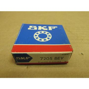 NIB SKF Stainless Steel Bearings-7205 BEY ANGULAR CONTACT BEARING 7205BEY NEW