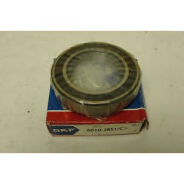 NIB SKF Stainless Steel Bearings-BEARING 6010-2RS1/C3 , 6010-2RS1-C3