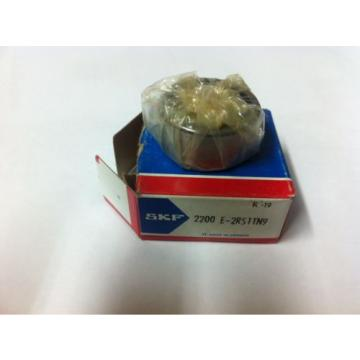 SKF Stainless Steel Bearings-2200 E 2RS1TN9 SELF-ALIGNING BEARING