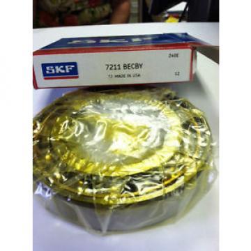 SKF Stainless Steel Bearings-7211 BYG Angular Contact Bearing (BECBY) * NIB**