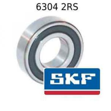6304 2RS Genuine SKF Stainless Steel Bearings-Bearings 20x52x15 (mm) Sealed Metric Ball Bearing 6304-2RSH