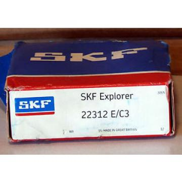 1 NEW SKF Stainless Steel Bearings-22312 E/C3 SPHERICAL ROLLER BEARING NIB ***MAKE OFFER***