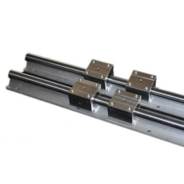 "Linear Guide Rail 12"" x 2 Block Bearings x 4 CNC Router Mill Plasma Laser Lathe"