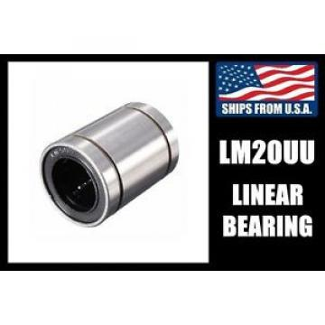 LM20UU Linear Bearing for 20mm Shafts, CNC Router/Milling Machine