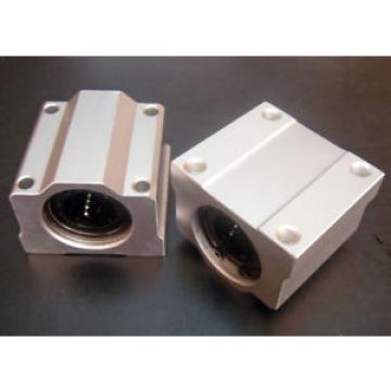 2x Ø20mm Linear Ball Bearing Block DIY CNC Milling Machine Lathe XY Table Router