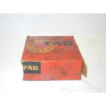 FAG 2308 NEW SELF ALIGNING DOUBLE ROW BALL BEARING 2308