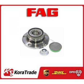 713610490 FAG RIGHT WHEEL BEARING KIT HUB