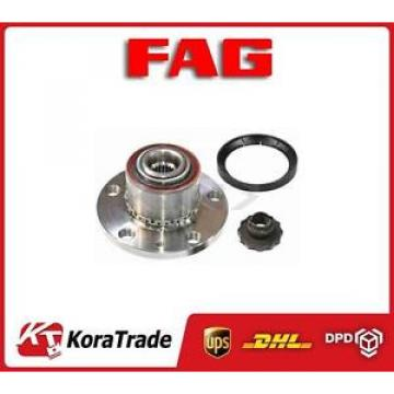 713610570 FAG RIGHT WHEEL BEARING KIT HUB