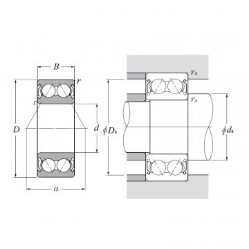 5302AZZ, Double Row Angular Contact Ball Bearing - Double Shielded