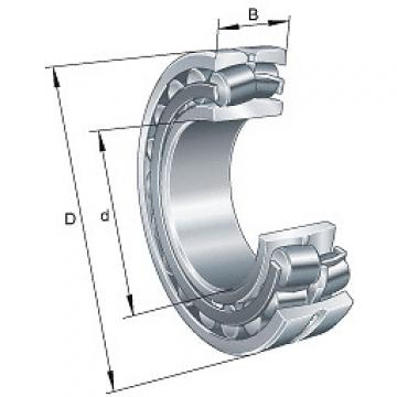 21316-E1 FAG Spherical roller bearings 213..-E1, main dimensions to DIN 635-2